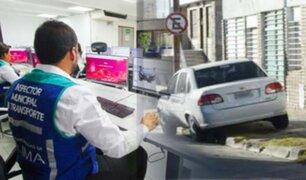 Municipalidad de Lima usará videopapeletas para sancionar infracciones de tránsito