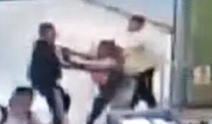 SJL: revendedores protagonizaron violento enfrentamiento en estación del Metro de Lima
