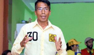 Candidato de Solidaridad Nacional participó en asesinato de excombatiente del Cenepa