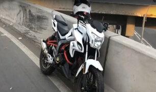 Surco: mujer muere tras accidente en motocicleta en el bypass del Derby