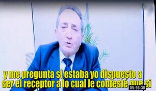 Caso Toledo: Josef Maiman detalla cómo recibía sobornos de Odebrecht y los transfería al exmandatario