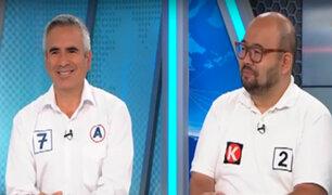 Carlos Vela y Diethell Columbus debaten sobre la inmunidad parlamentaria y el obstruccionismo