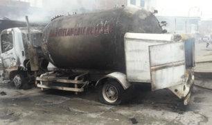 Villa El Salvador: tres muertos y 47 heridos tras deflagración de combustible de cisterna