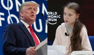 """¿Indirectas para Greta Thunberg? Trump pide rechazar a """"los profetas de la fatalidad"""""""
