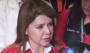 Ministra de Salud se pronunció sobre tragedia por deflagración en VES