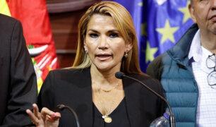 Polémica en Bolivia: ministros quieren que Jeanine Áñez postule a la presidencia