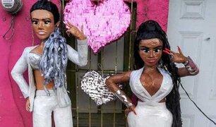 FOTOS: fabrican piñatas de 'Tusa', canción de Karol G y Nicki Minaj