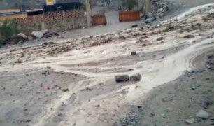 Lurigancho-Chosica: más de mil familias afectadas por huaico