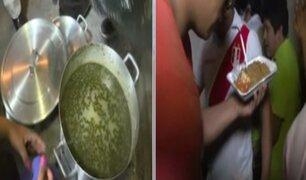 Tragedia en Villa El Salvador: afectados recibieron comida y víveres de ciudadanos