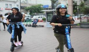 Miraflores: empresas de scooters y bicicletas ofrecerán descuentos a electores este domingo 26