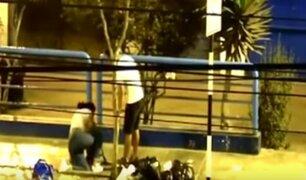 Ventanilla: sujeto que agredió a su pareja en plena vía pública fue liberado