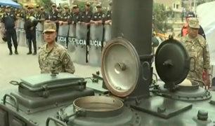 Tragedia en VES: militares llevan desayunos para damnificados desde temprano