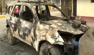 Tragedia en VES: este sería el vehículo que ocasionó el incendio