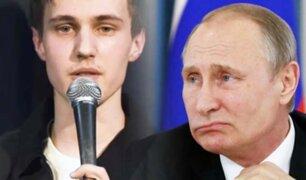 Rusia: cómico escapa del país tras ser investigado por sus bromas sobre Putin