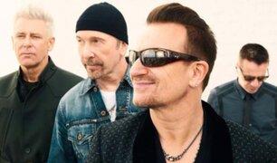U2 ganó más de 73 millones de dólares con solo 15 conciertos