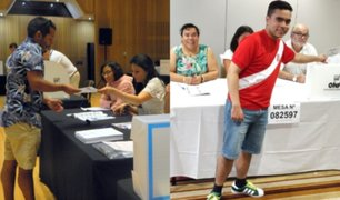 Elecciones congresales 2020: inicia sufragio de peruanos en Nueva Zelanda