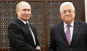 Palestina estrecha lazos con Rusia y colapsa su relación con EEUU
