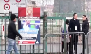 Voto Responsable   peruanos en Italia inician jornada electoral