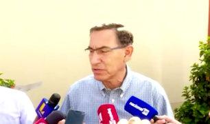 """Martín Vizcarra: """"Pondremos todos nuestros esfuerzos para buscar consensos"""""""