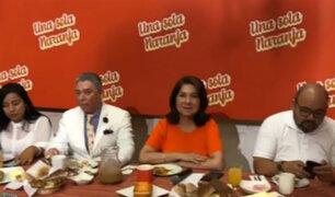 Cercado de Lima: candidatos de Fuerza Popular comparten tradicional desayuno