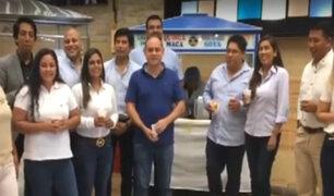 Elecciones 2020 | Candidatos de Somos Perú comparten desayuno en carretilla de emoliente