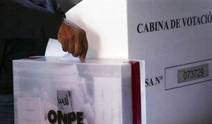 Elecciones 2021: Congreso plantea que proceso electoral sea en mayo y ya no en abril