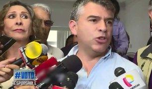 Elecciones 2020: Julio Guzmán se pronuncia tras resultados a boca de urna
