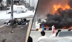 VES: Crónica de una infernal tragedia que ha enlutado al Perú con al menos 14 víctimas