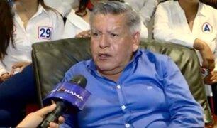 """César Acuña: """"Vamos a legislar pensando en los peruanos y no en intereses personales"""""""