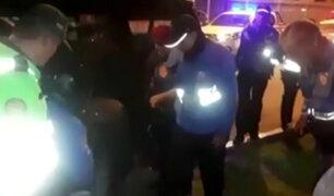 Persecución en San Isidro: sereno queda grave tras ser atropellado por delincuentes