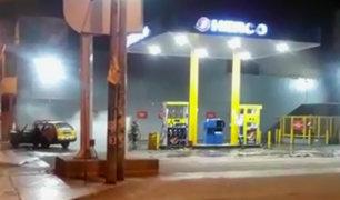 SJM: fuga de gas en grifo generó pánico en vecinos