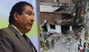 """Ministro de Vivienda sobre tragedia en Villa El Salvador: """"reconstrucción costaría S/10 millones"""""""