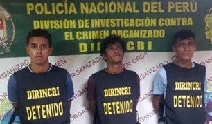 """""""Los Malditos de Unicachi"""": extorsionaban y cobraban cupos a mototaxistas en SMP"""