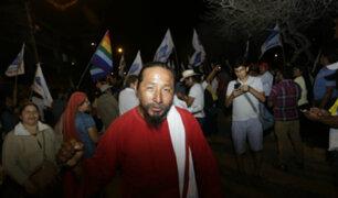 Hincha 'israelita' feliz con resultados del Frepap