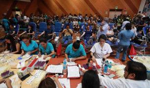 EsSalud: más de 1600 unidades de sangre fueron donadas por tragedia en VES