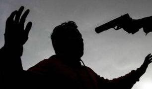 Hombre asesinó de un disparo a su hermano en Comas