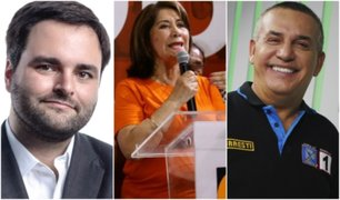 Resultados ONPE al 78%: estos son los candidatos más votados en Lima