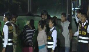 Expulsan a 131 venezolanos implicados en delitos en Lima y Huancayo