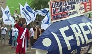 Frepap: así celebró el Hincha Israelita regreso al Congreso del 'pescadito'