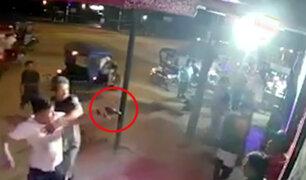 Pucallpa: sujeto amenaza con pistola a vigilante que le impidió ingreso a bar