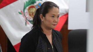 Keiko Fujimori: apelación contra prisión preventiva será presentada este viernes