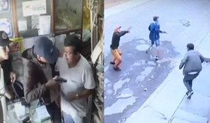 SJL: Depincri detrás de banda criminal dedicada a asaltar negocios locales