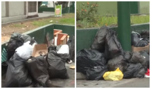 Surco: vecinos denuncian acumulación de basura en varias de sus calles