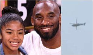 Así fueron los últimos minutos del fatal vuelo de Kobe Bryant