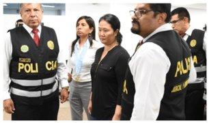 Keiko Fujimori: en las próximas horas se definirá a qué penal será trasladada