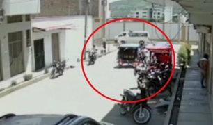 Jaén: delincuentes en moto asaltan a balazos a dos mujeres
