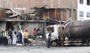 Muere niño que salvó a su perrito de explosión e incendio en Villa El Salvador