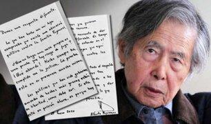Alberto Fujimori se pronunció sobre prisión preventiva contra Keiko