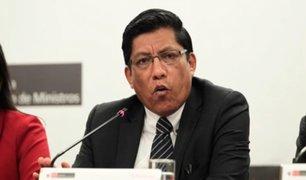Vicente Zeballos negó intervención del Ejecutivo en el proceso de Keiko Fujimori