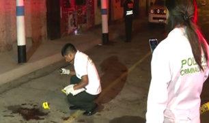 Callao: casi en simultáneo, dos tiroteos dejan un muerto y un herido